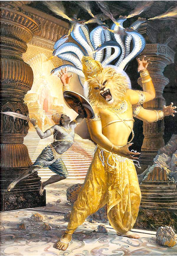 Nrisimha-Vishnu