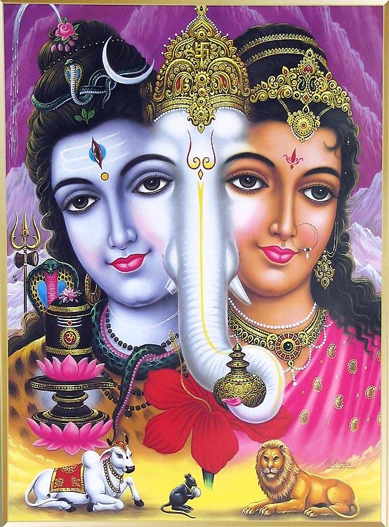 ShivaParvatiGanesh