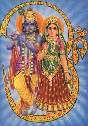 krishna-radha-om