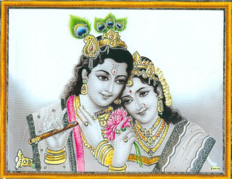 radha + krishna