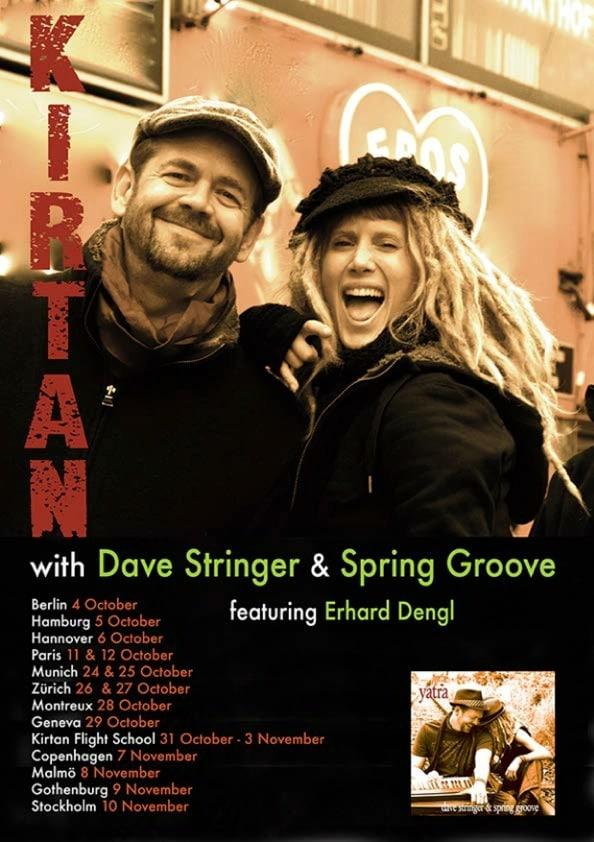 Dave Stringer Eurpe Tour
