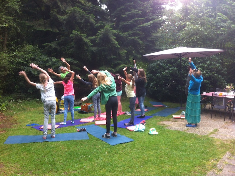 stembevrijding kinder yogakamp
