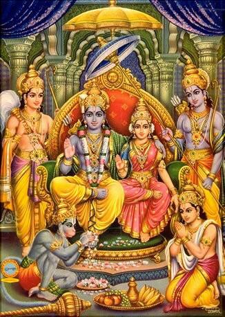 Sita-Rama-Hanuman-Lakshman