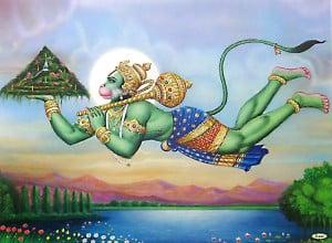 hanuman fly