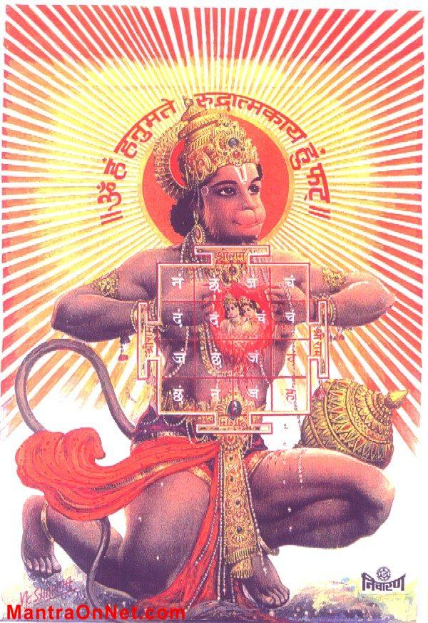 hanumanmetyantra