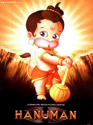 hanuman child