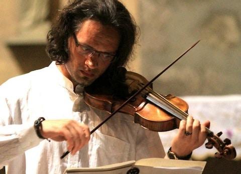 Arjen de Graaf viool Kirtan