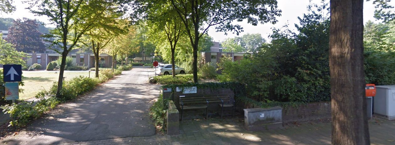 IBBO Dolomiet ingang aan de Kwakkenbergsestraat Nijmegen Berg en Dal