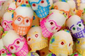 suiker doodshoofden dia de los muertos