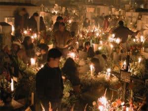 kaarsen kerkhof dia de los muertos