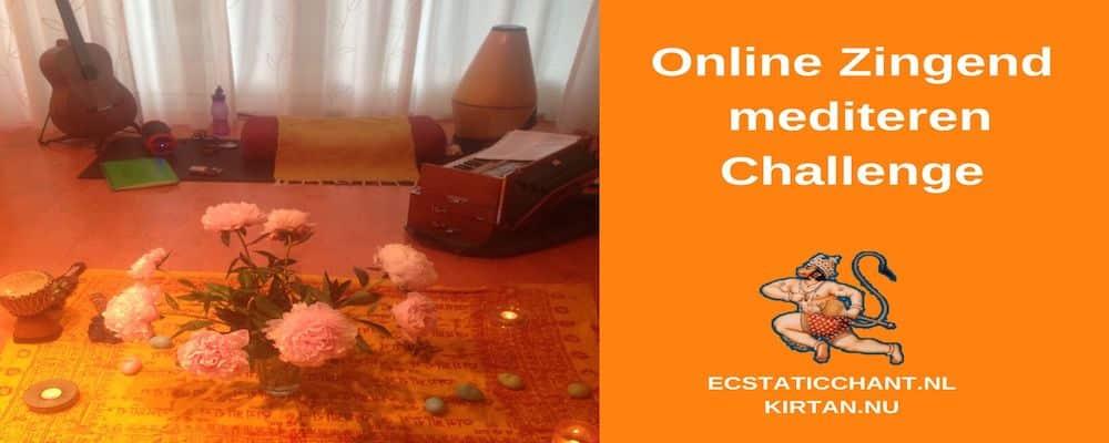 online zingend mediteren challenge