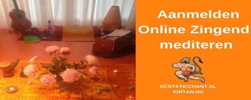 aanmelden online zingend mediteren
