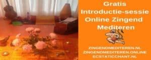 gratis introductie-sessie online zingend mediteren, kirtan-mantra