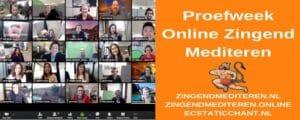 proefweek online zingend mediteren
