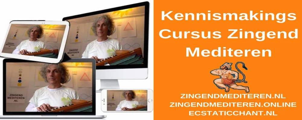 Kennismaking Cuursus Zingend Mediteren