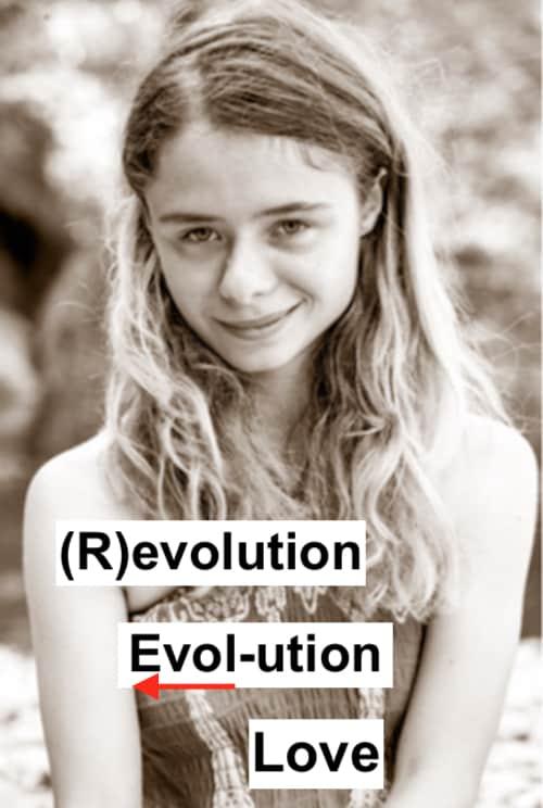Christina von Dreien, Revolution, Evolution, Love, Revolutie, Evolutie